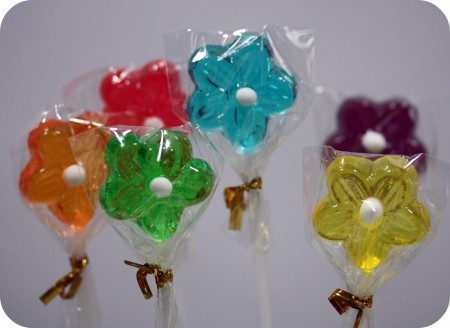flower-lollipops