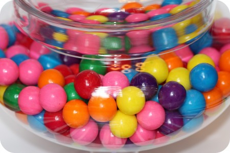 gumballs in jar giveaway