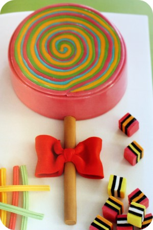 planet cake lollipop cake