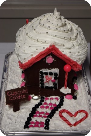 cupcake castle gingerbread house
