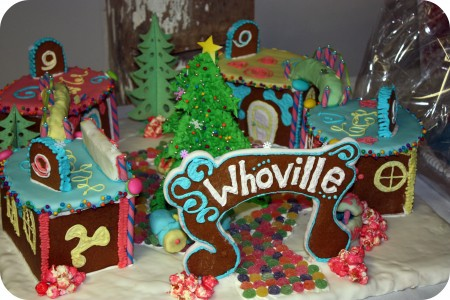 whoville gingerbread village