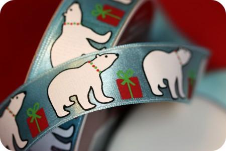 pretty Christmas ribbon